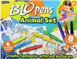 Blo Pens Blopens Animal Activity Art Craft Drawing Colouring Set